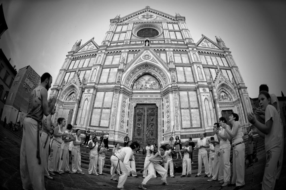 Capoeira - Piazza Santa Croce, Firenze